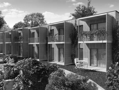 "Passivreihenhausanlage ""Cohousing"""